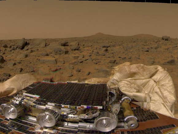 image of Sojourner rover