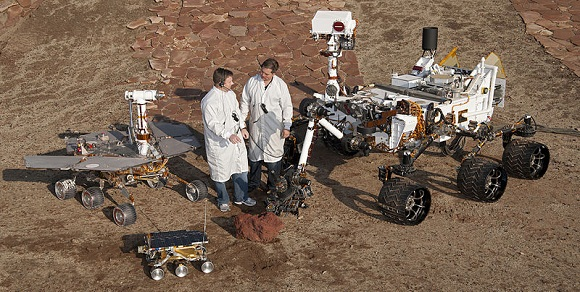 image_of mars rovers